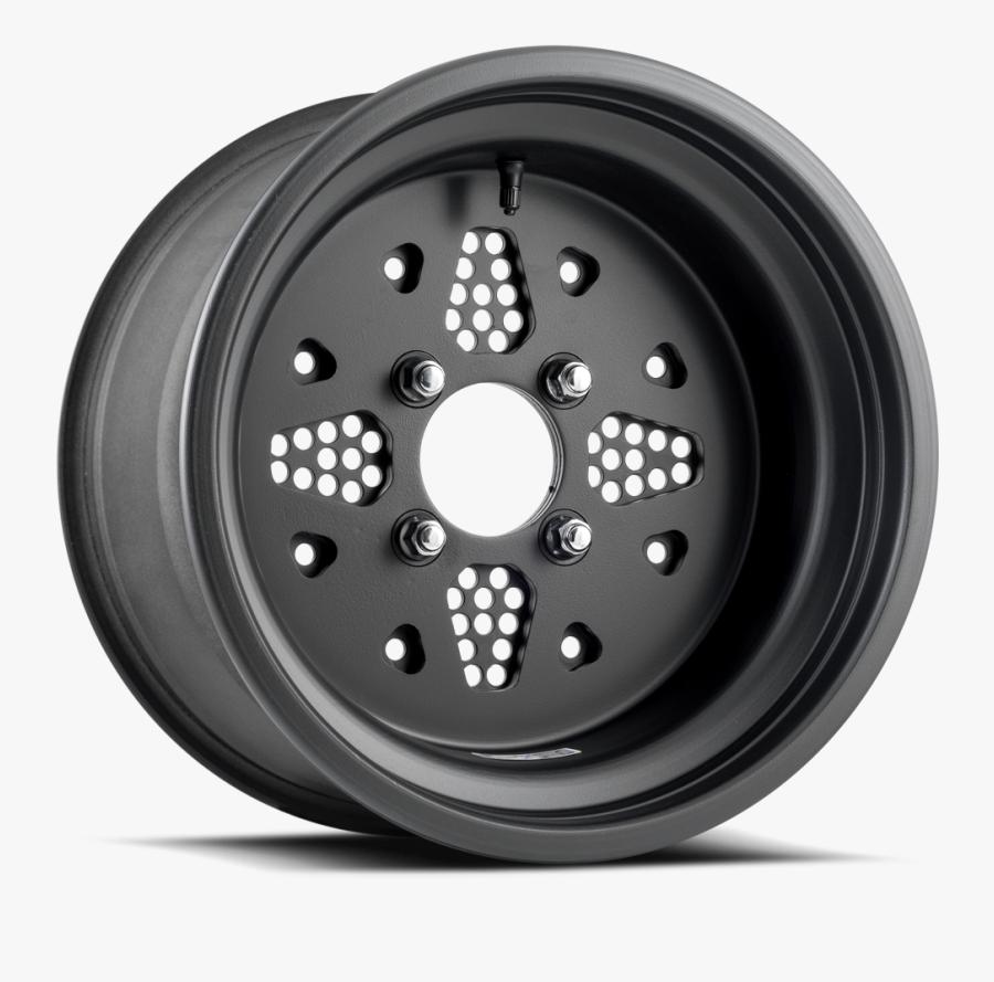Rockout Dwt Douglas Wheel Sxs Utv Matte Black 14 15 - Wheel, Transparent Clipart