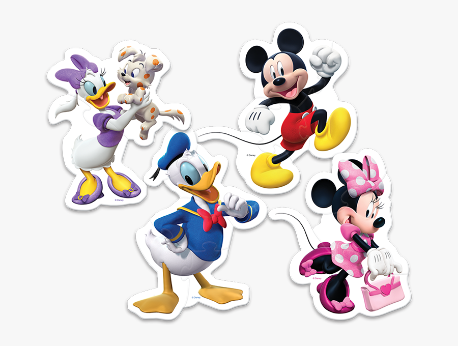 Transparent Mickey Mouse Clubhouse Png - Trefl Baby Puzzle Disney, Transparent Clipart