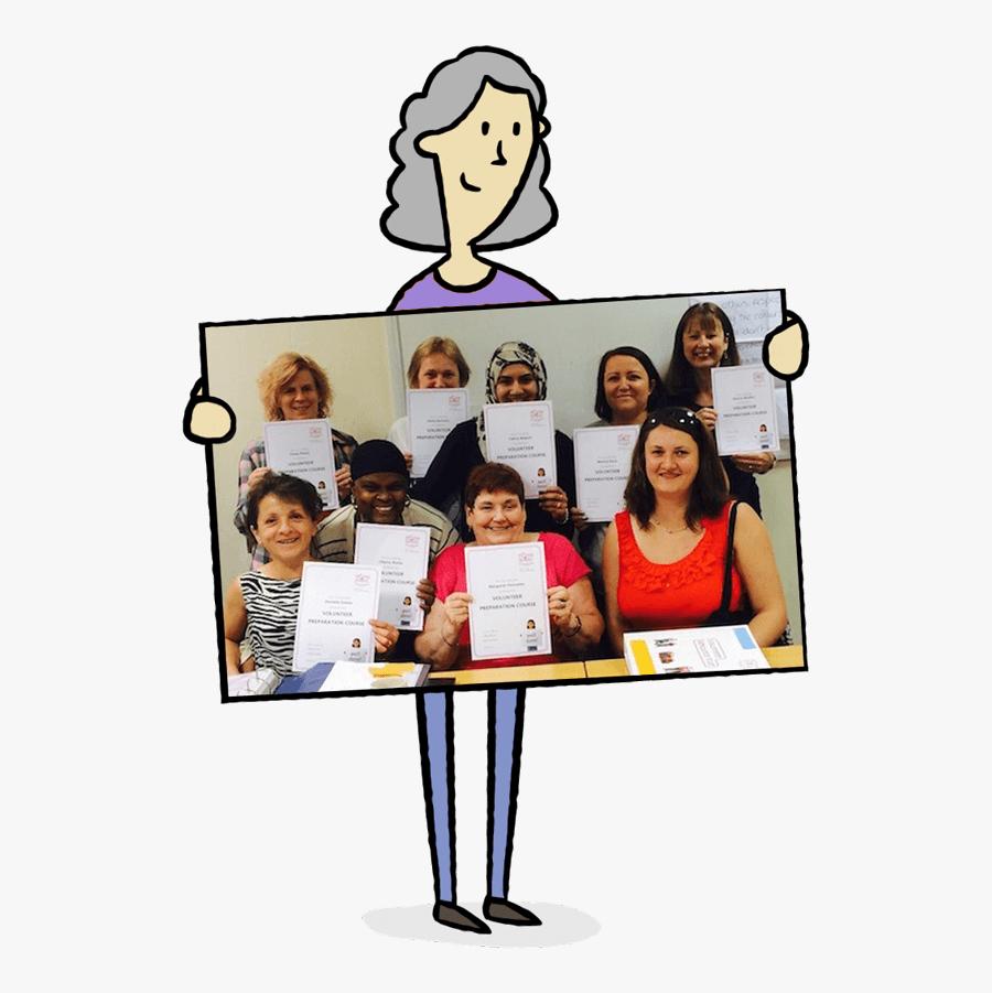 Volunteering Opportunities In Luton - Flat Panel Display, Transparent Clipart