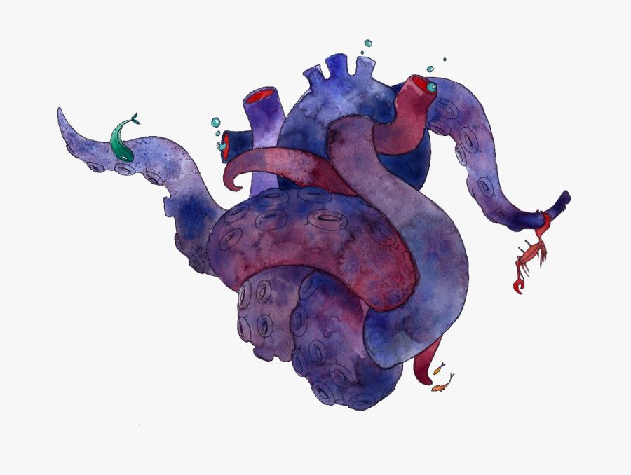 Sea Monster Png - Illustration, Transparent Clipart