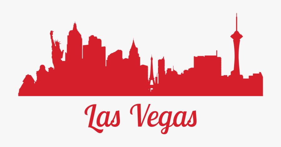 Silhouette Las Vegas Clip Art, Transparent Clipart