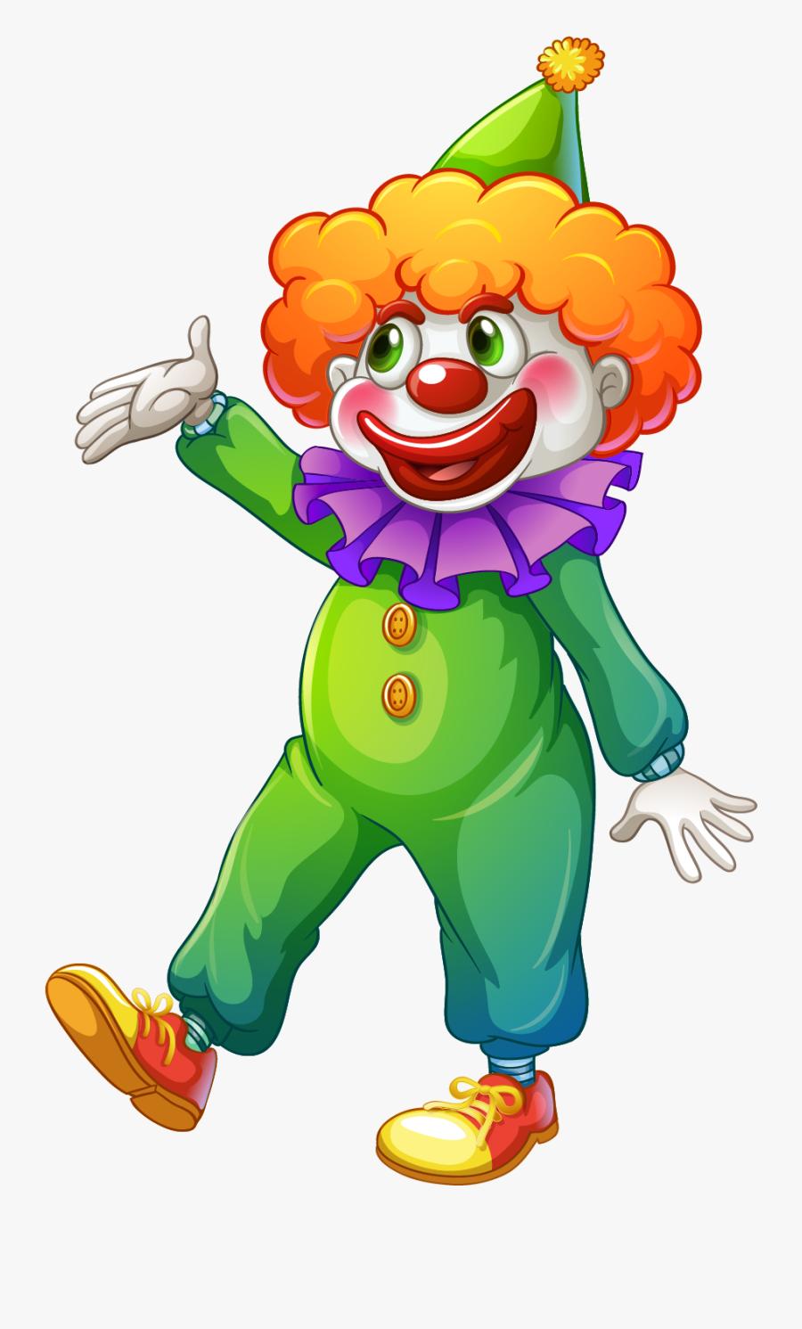 Clown Png Free Download - Tarjetas De Invitacion De Payasos, Transparent Clipart
