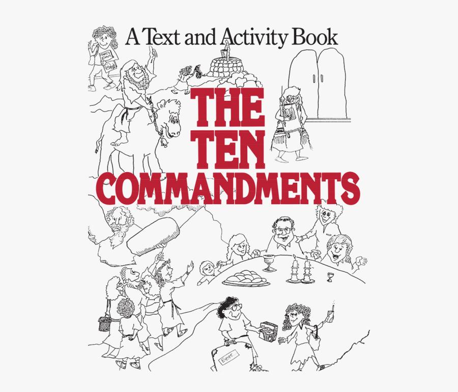 Cartoon Ten Commandments, Transparent Clipart