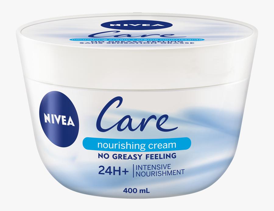 Nivea Care Nourishing Cream, Transparent Clipart