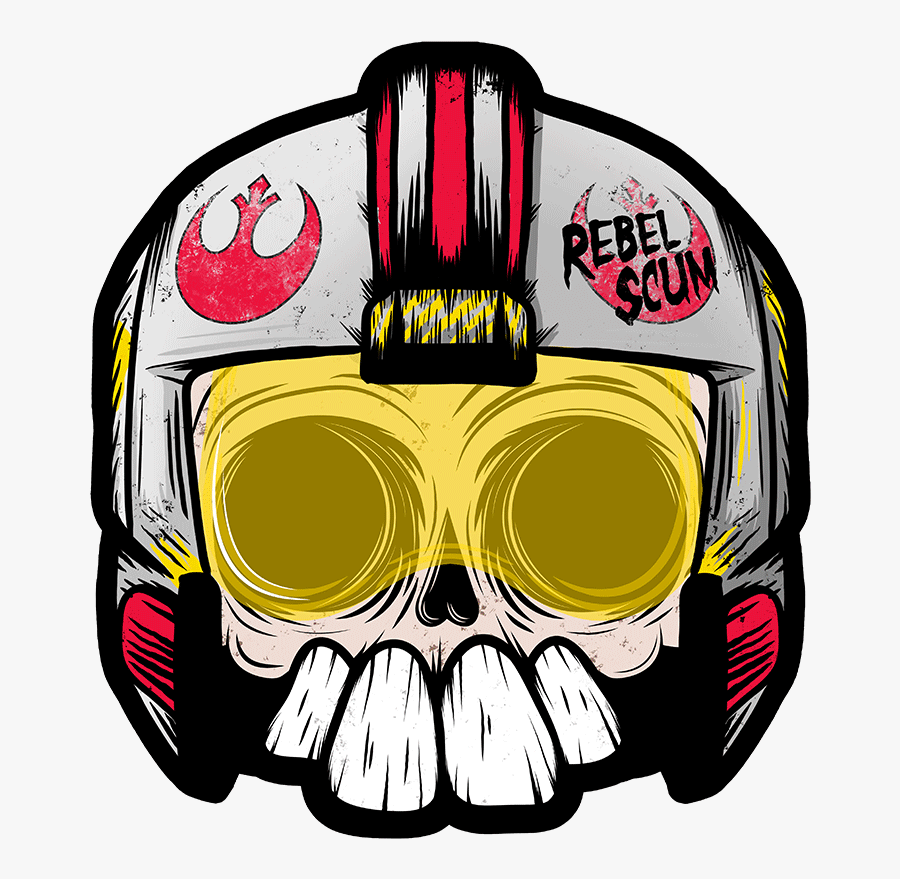 Art - Rouge Skull - Manic Lawd - Rebel Scum - Illustration, Transparent Clipart