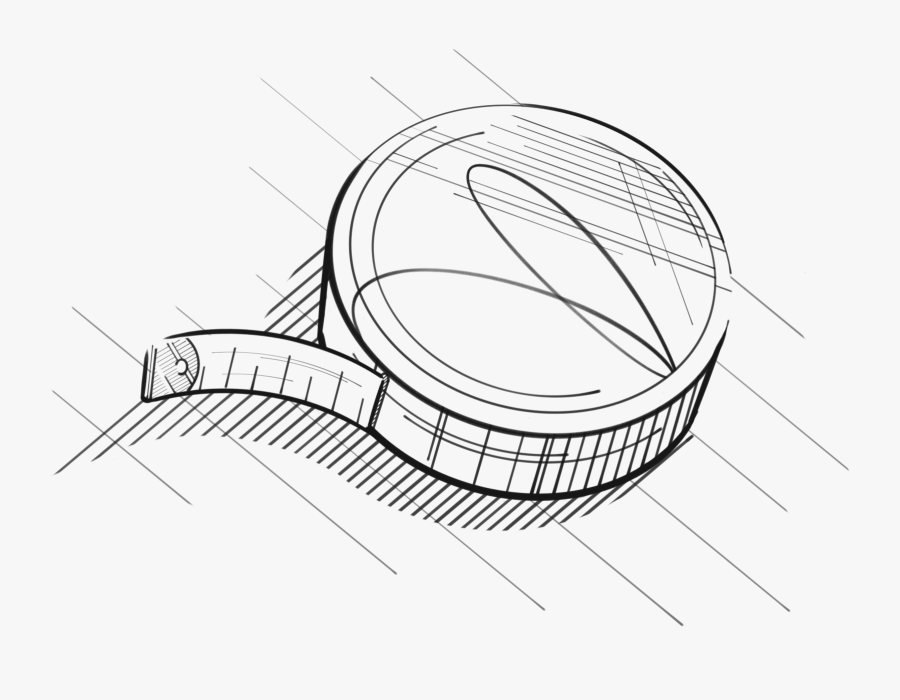 Black and white cartoon measuring tape Clipart | k34624660 | Fotosearch