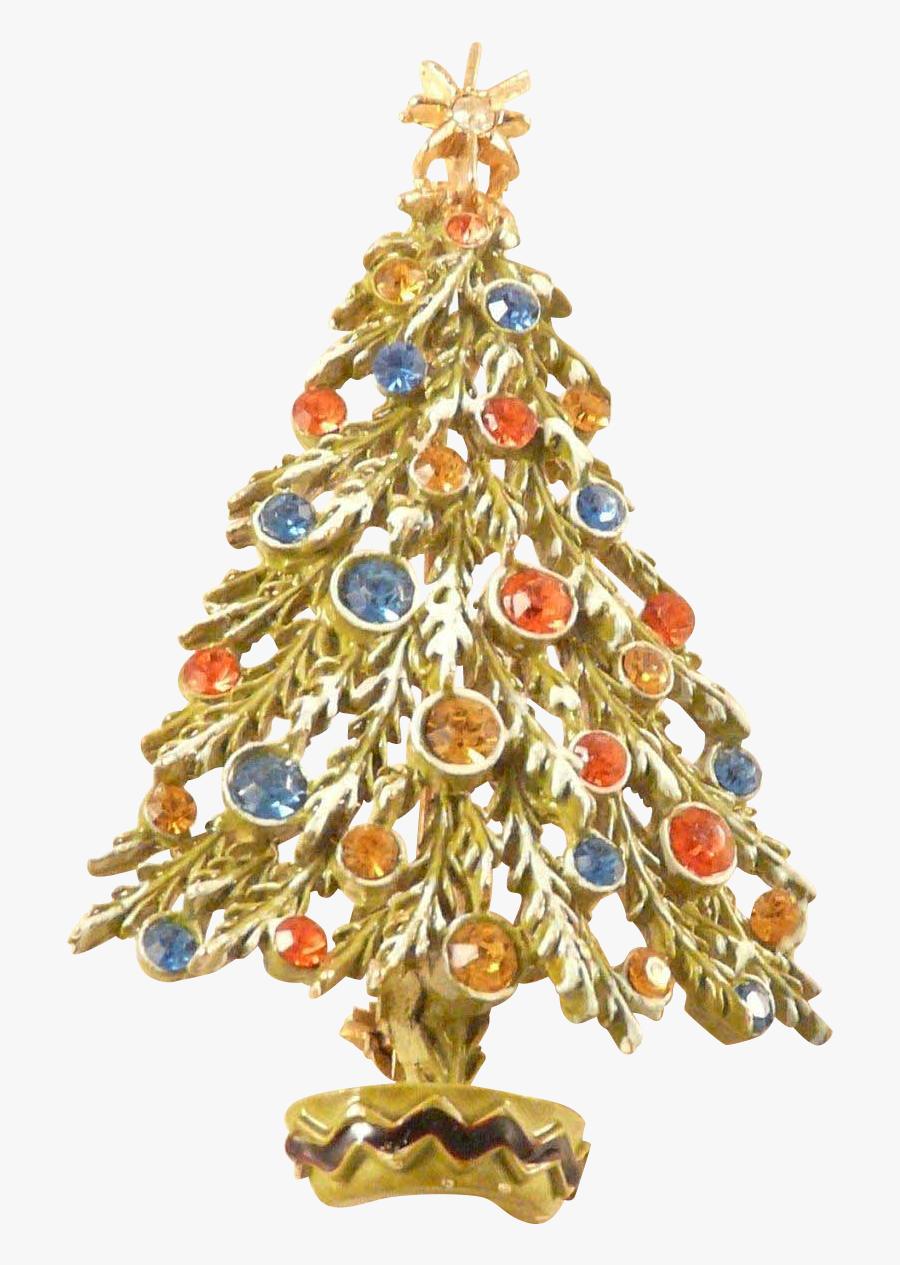 Vintage Christmas Ornament Png - Christmas Tree, Transparent Clipart