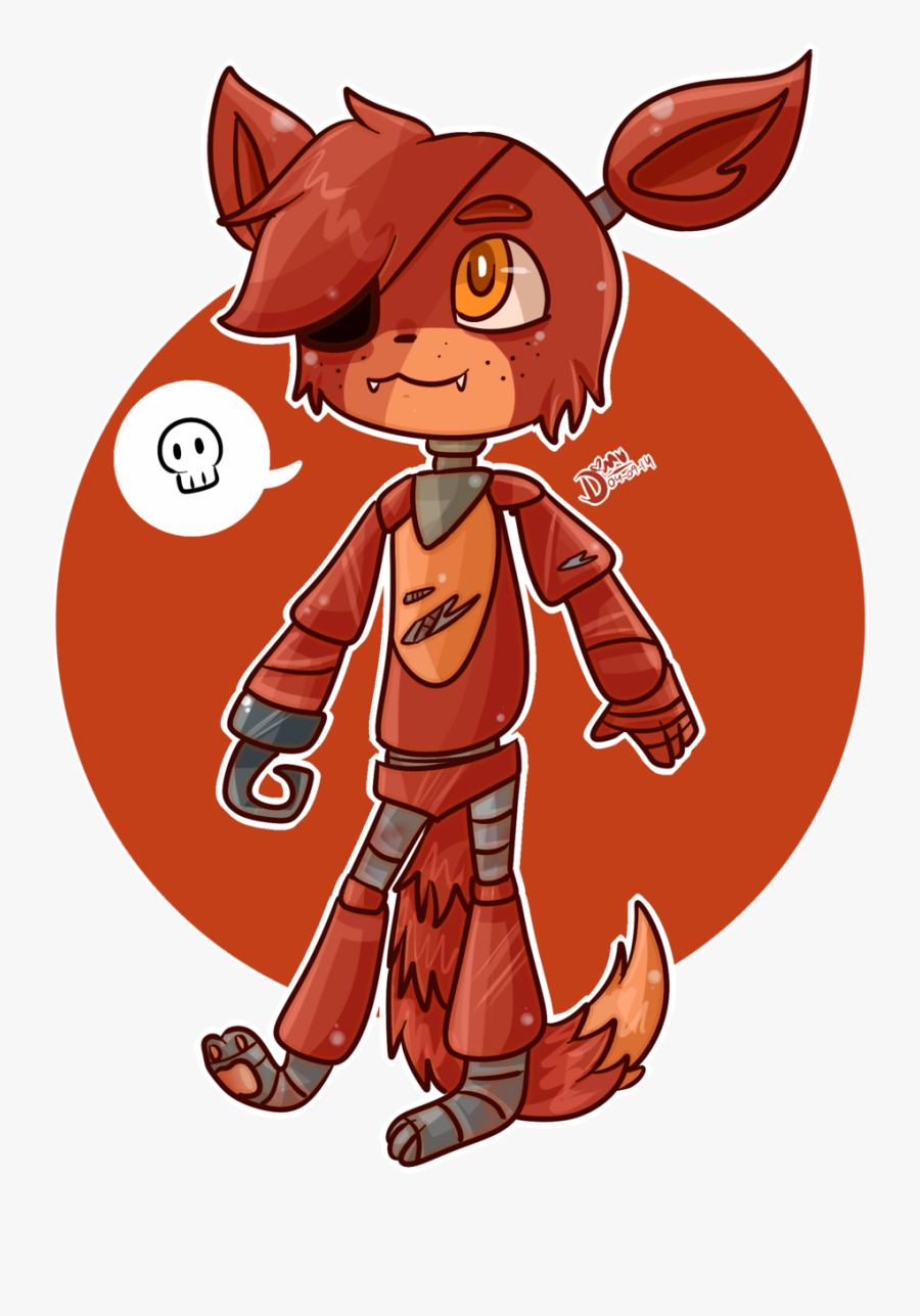 """Five Nights At Freddy""""s 2 Fnaf World Five Nights At - Five Nights At Freddy's Foxy Chibi, Transparent Clipart"""