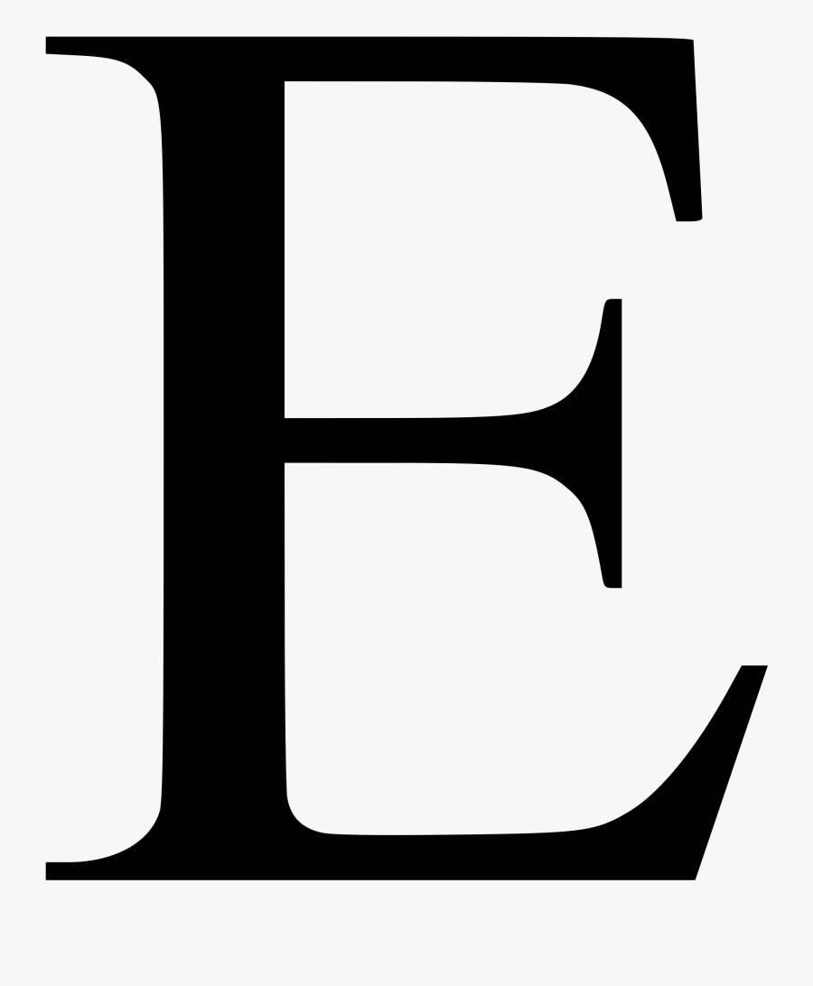 Times New Roman Font E Clipart , Png Download , Free