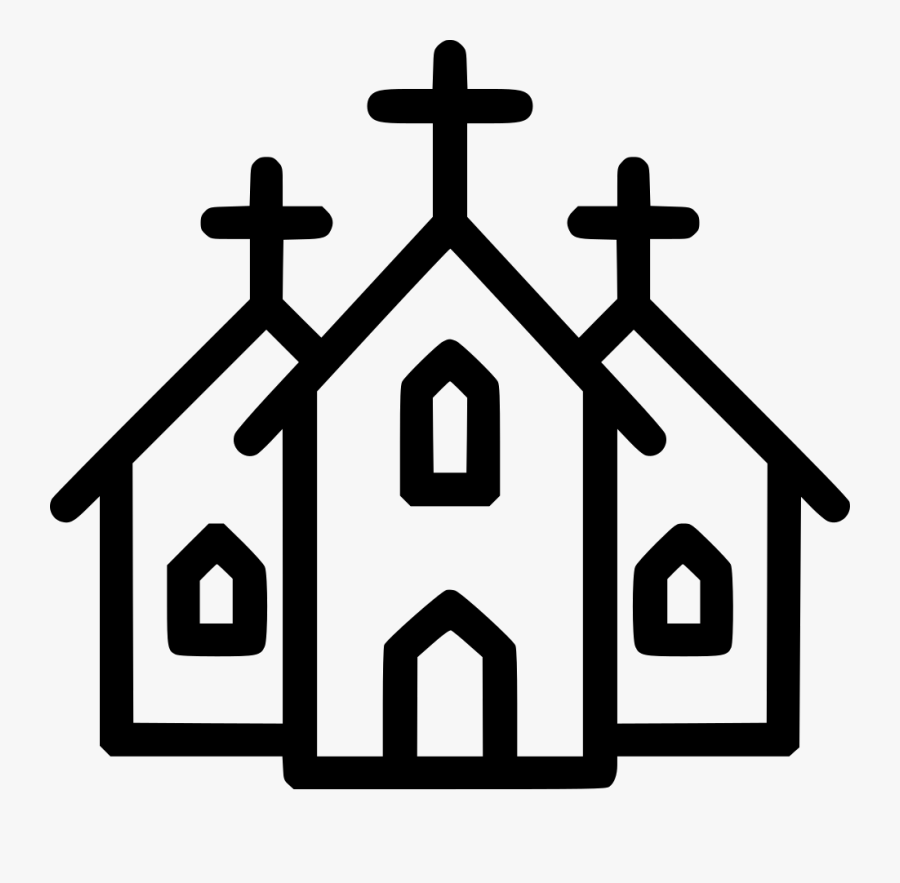 Church Christian Christianity Institution Building - Church Icon For Map, Transparent Clipart