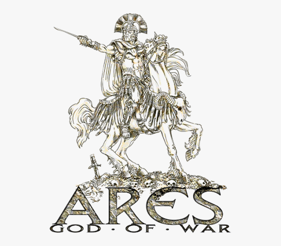 Ares Vector Spartan Helmet Side Greek Mythology Ares The