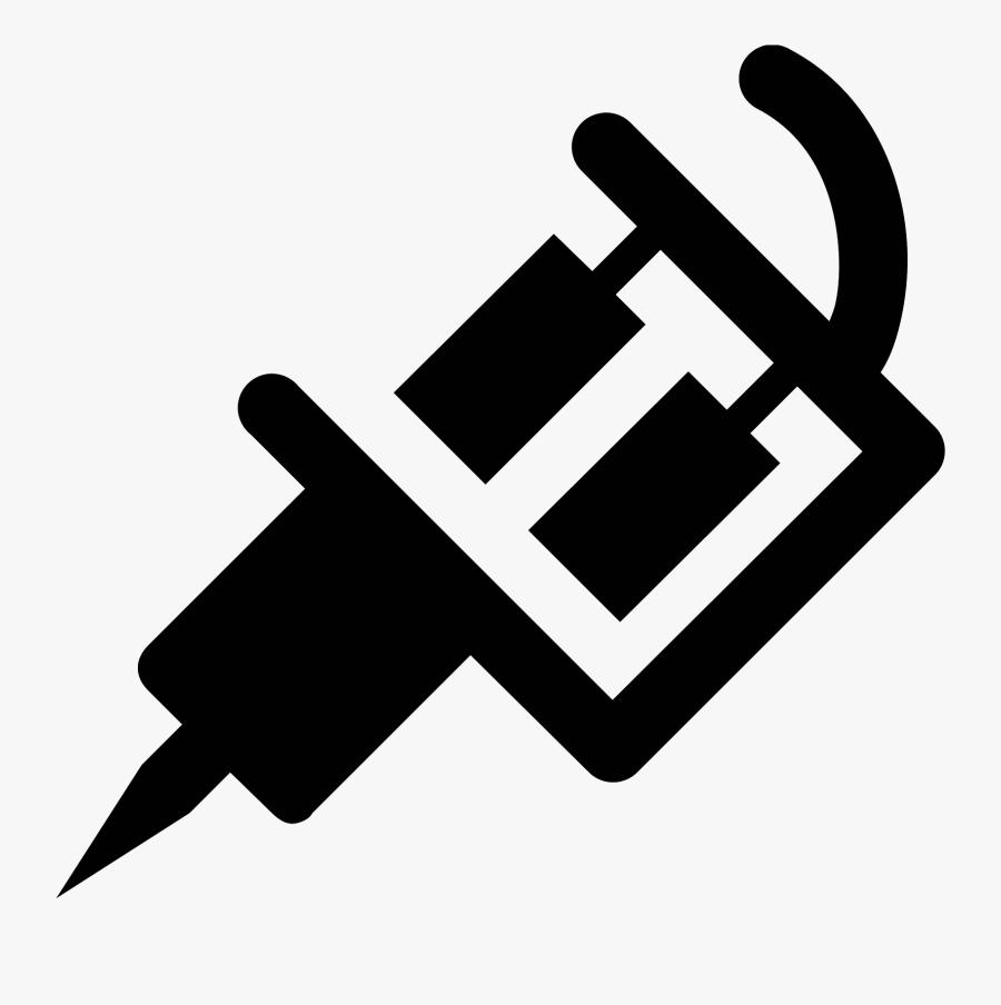 Machine Icon Free Download - Tattoo Machine, Transparent Clipart