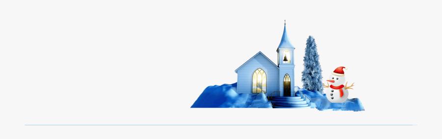2017 Christmas Website Offer Banner Church, Transparent Clipart