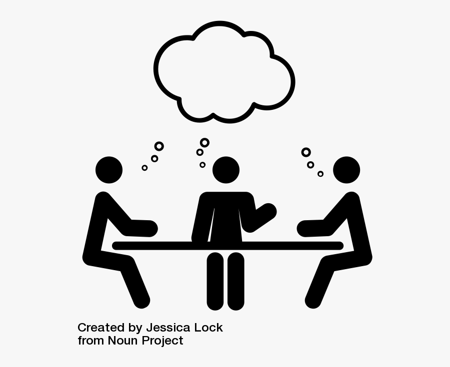 Plan For Positive Results - Group Work Clipart Black And White, Transparent Clipart