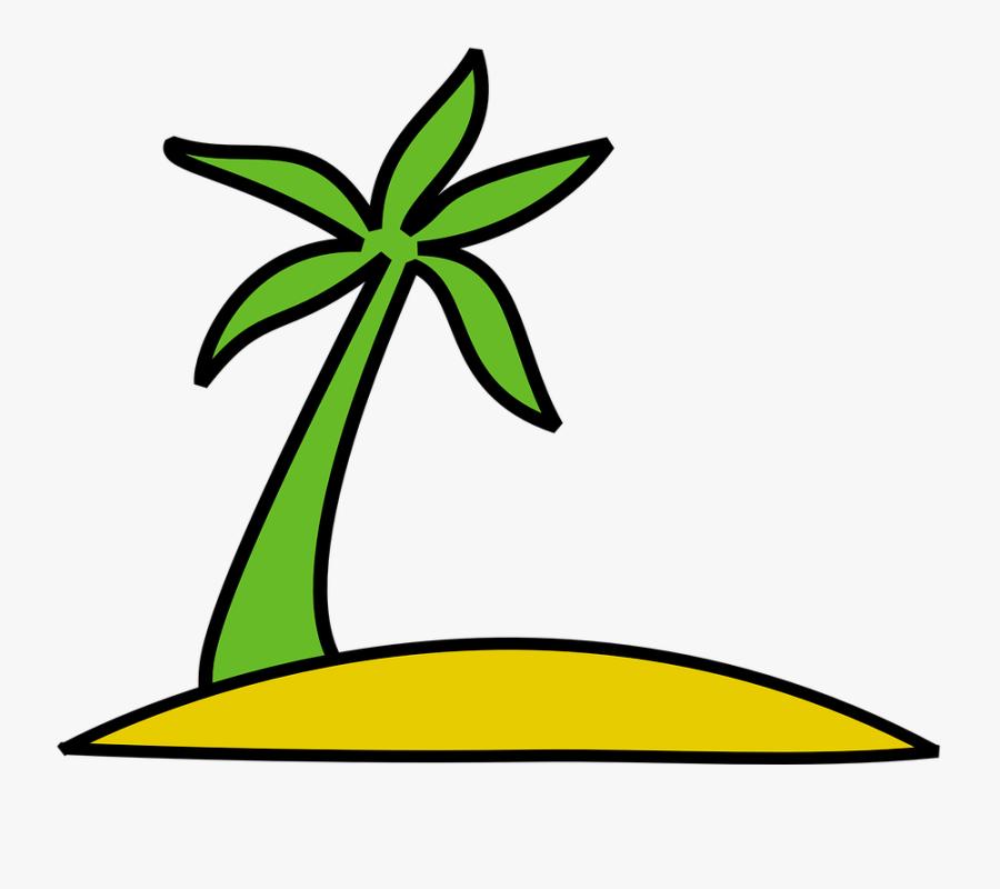Transparent Twisted Tree Clipart - Island Clip Art, Transparent Clipart