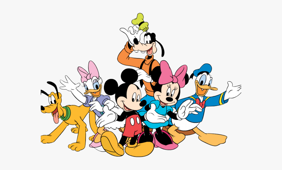 Mickey And Friends Png , Free Transparent Clipart - ClipartKey
