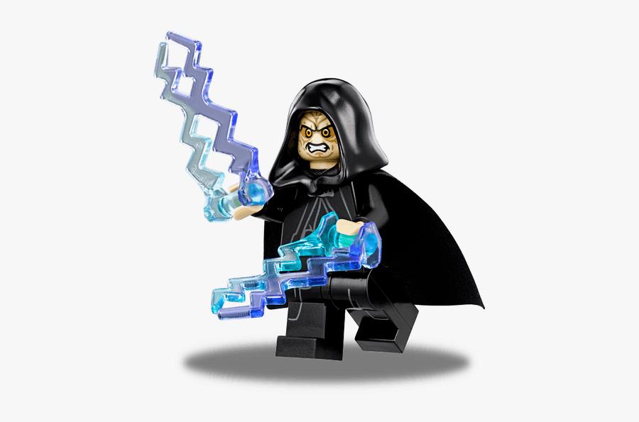 Lego Emperor Palpatine, Transparent Clipart