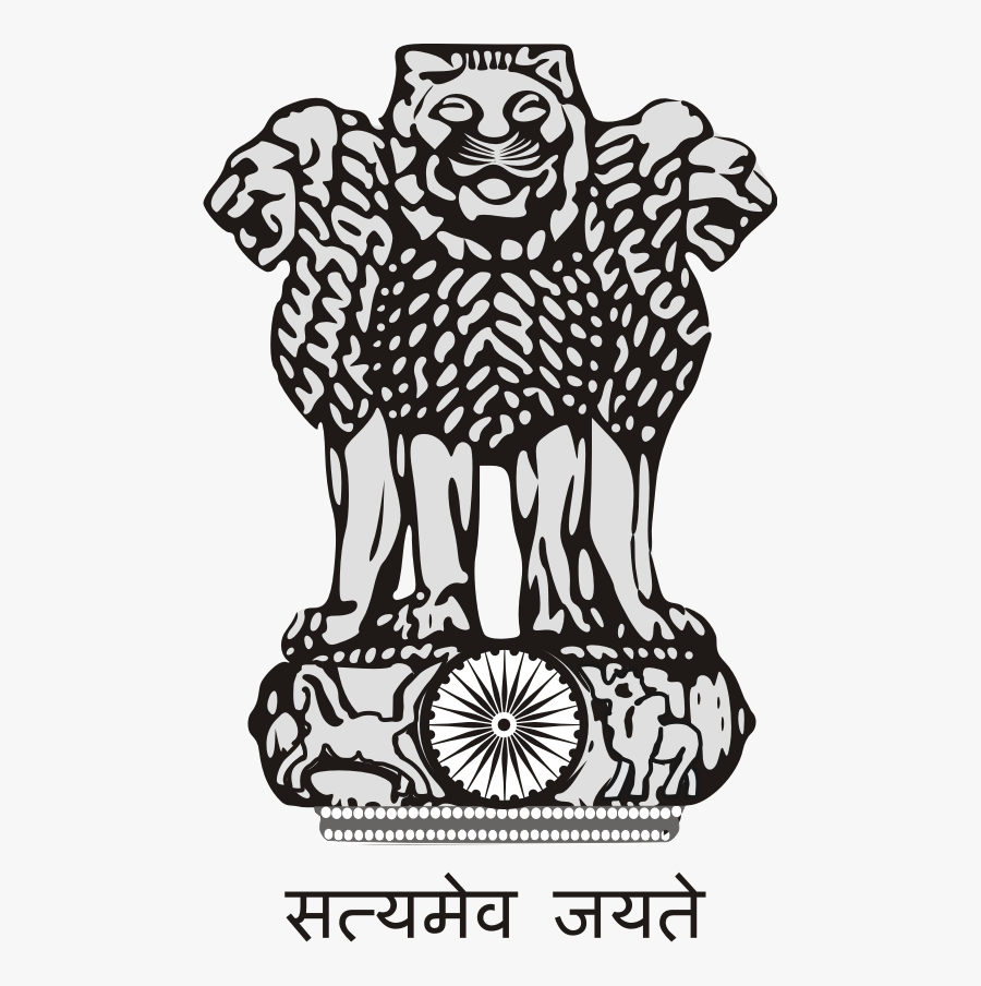 Coat Of Arms Of India Png Image - National Emblem Of India, Transparent Clipart