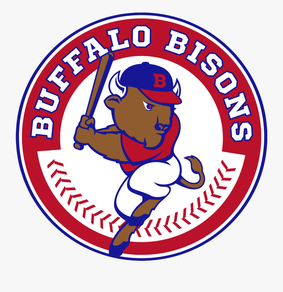 Lutheran Night At The Bisons - Buffalo Bisons Baseball Logo, Transparent Clipart
