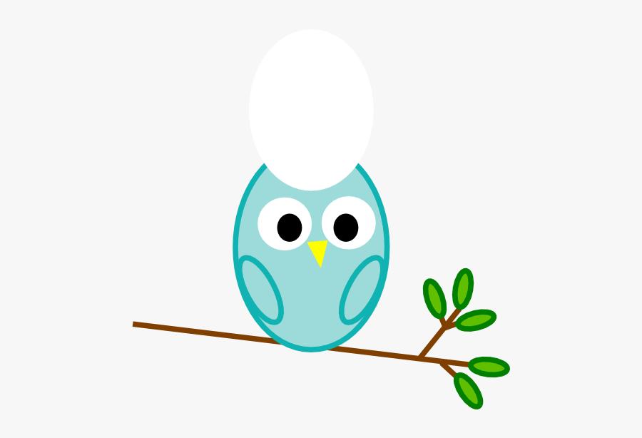 Mint Clip Art At - Owl Baby Boy, Transparent Clipart