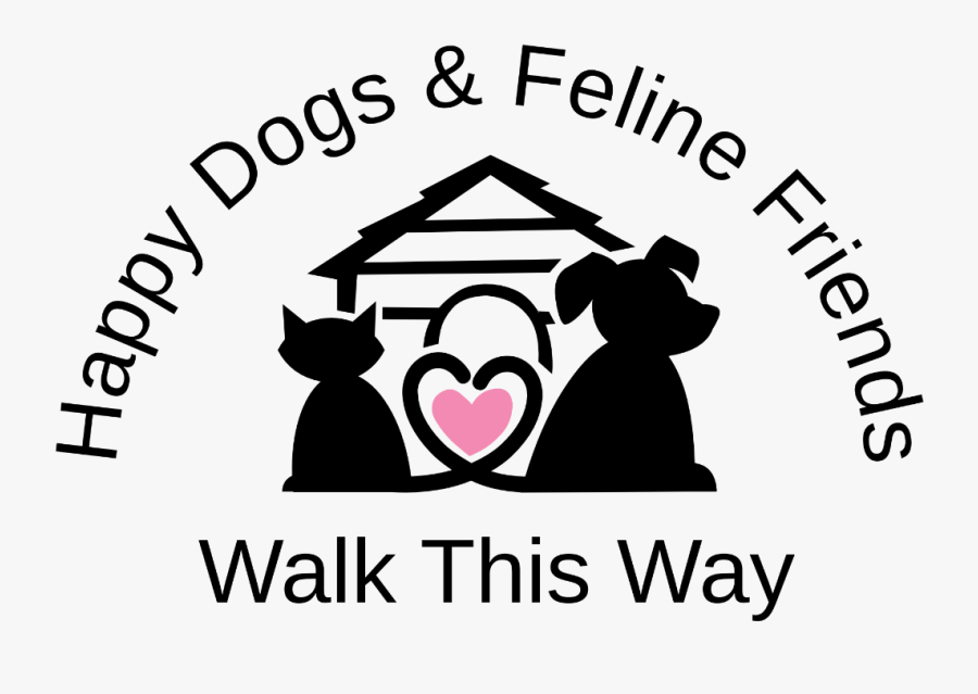 Happy Dogs And Feline Friends - Scenic Hills Animal Hospital Logo, Transparent Clipart