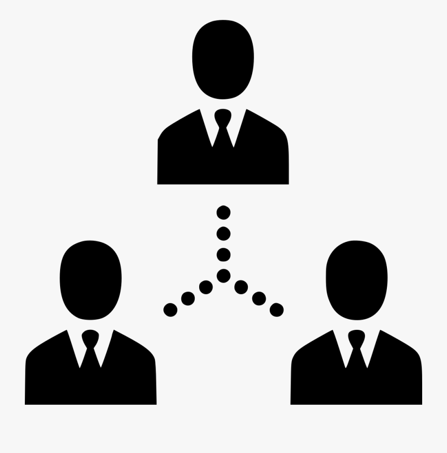 Men Users Group Team People Links Connection - Connect People Logo Png, Transparent Clipart