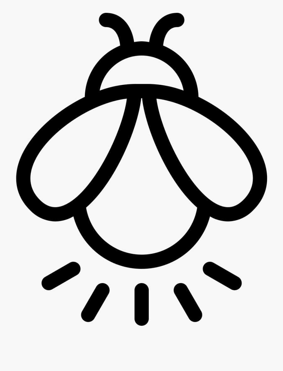 Firefly Icon , Transparent Cartoons - Firefly Drawing Png, Transparent Clipart