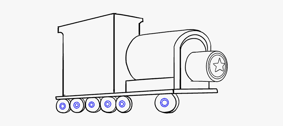 How To Draw A Train In A Few Easy Steps Easy Drawing - Train Side Drawing Easy, Transparent Clipart