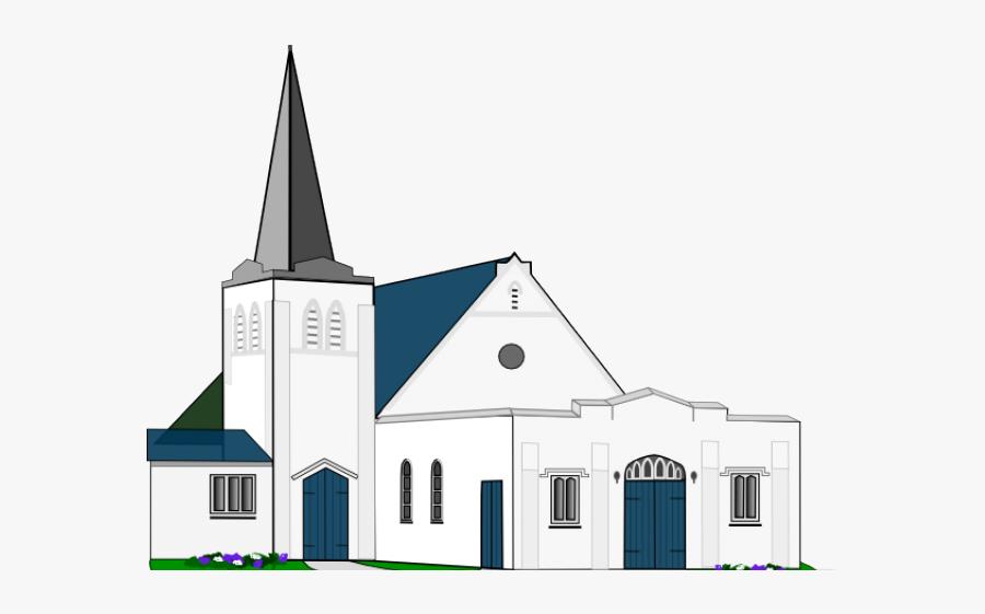 Catholic Drawing Church Building - Catholic Church Clipart, Transparent Clipart