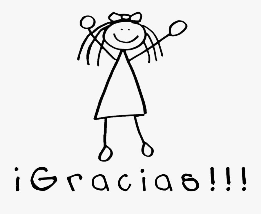 Stick Figure Drawing Female Clip Art - Funny Girl Stick Figure, Transparent Clipart
