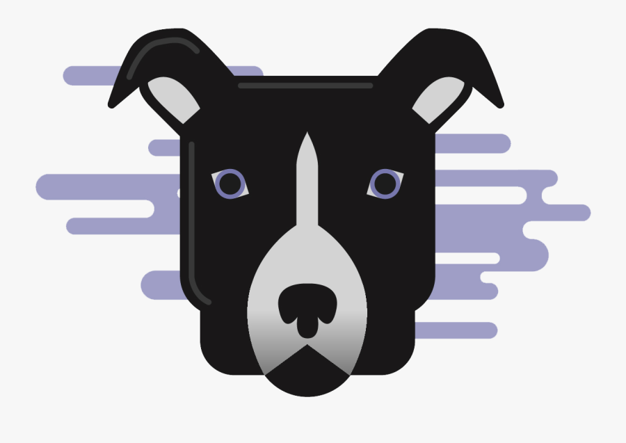 Logo For The Fetch Living Learning Community Featuring - Dog Licks, Transparent Clipart
