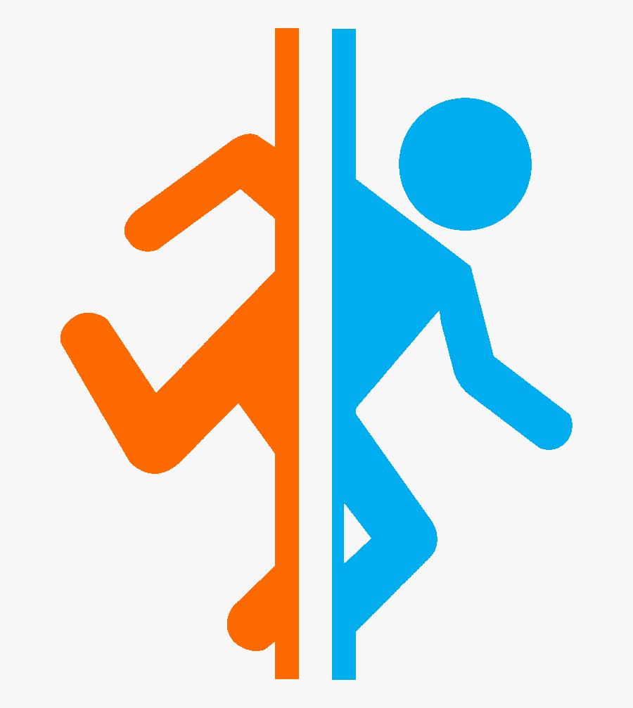 Teleport - Portal 2 Logo Png, Transparent Clipart