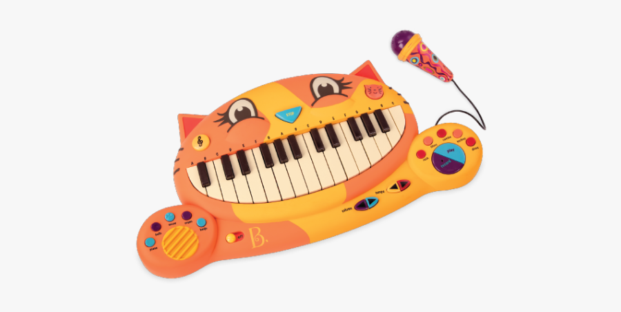Cat Piano Toy, Transparent Clipart