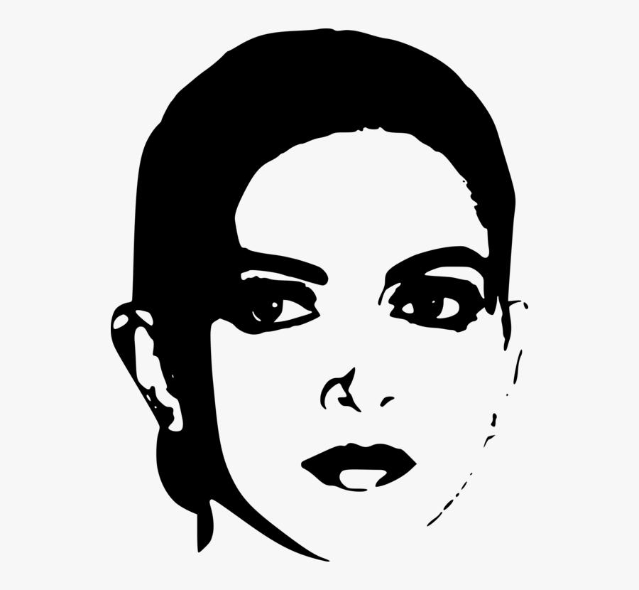 Emotion,art,monochrome Photography - Deepika Padukone Line Art, Transparent Clipart
