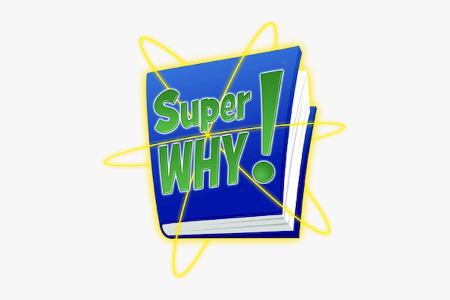 Logo Super Why Png, Transparent Clipart