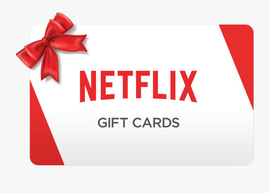 Netflix Gift Cards - Netflix Christmas Gift Card, Transparent Clipart