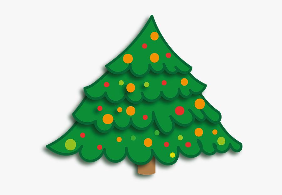 Christmas, Xmas, Christmas Tree, Deco, Tree Decorations - Christmas Tree, Transparent Clipart