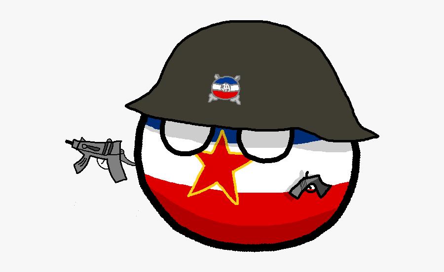 Polandball Wiki - Yugoslavia In The Eurovision Song Contest, Transparent Clipart