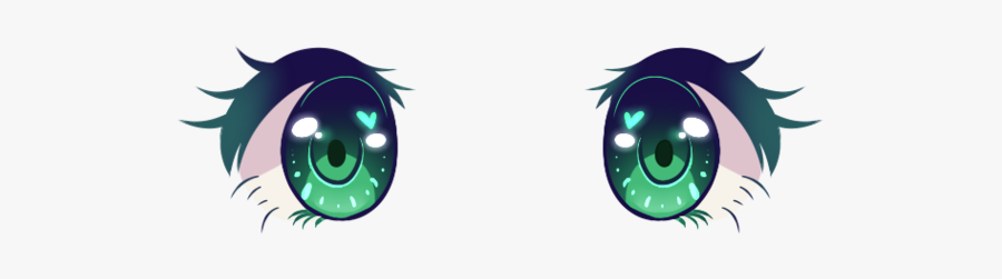 Anime Eyes Are Kewl I Guess - Anime Eyes Transparent Background, Transparent Clipart