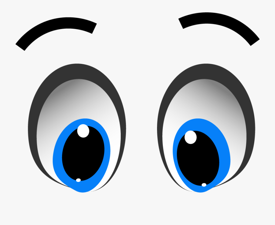 11 Expression Cartoon Eyes With Transparent Background - Cartoon Eyes Transparent Background, Transparent Clipart