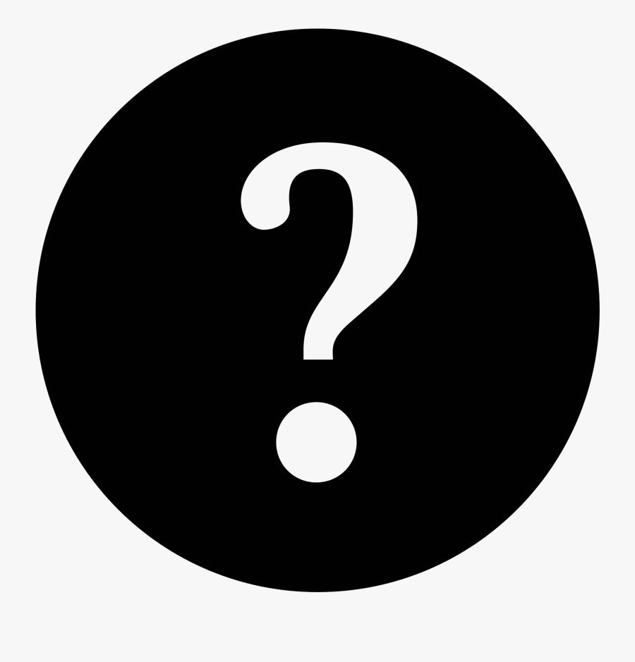 Question Mark Icon Png Transparent - Asking Questions Icon Png, Transparent Clipart