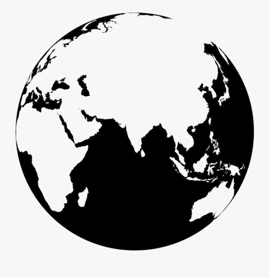 Earth Vector Image Png , Png Download - Earth Black And White Png, Transparent Clipart