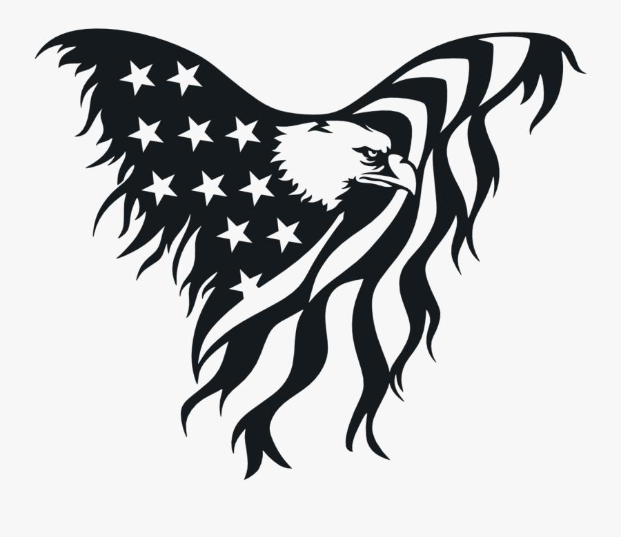 American Flag Eagle Clipart, Transparent Clipart