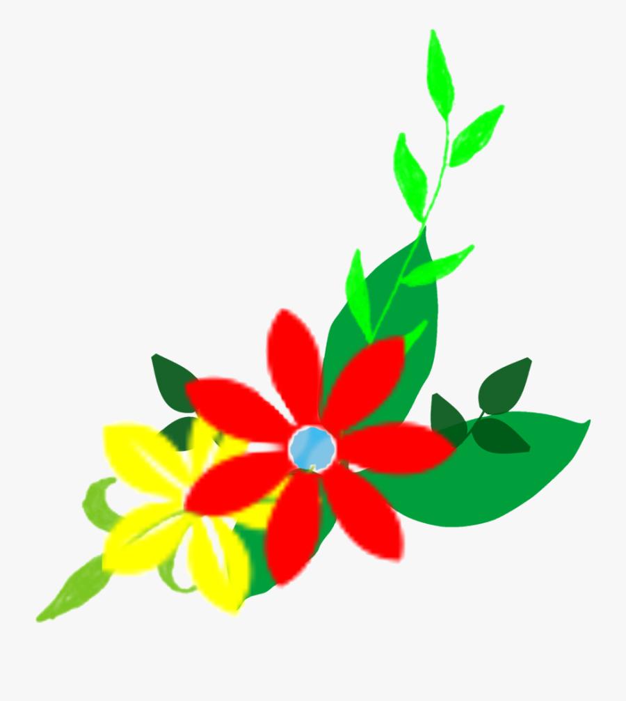 Transparent Flower Design Clipart - ดอกไม้ การ์ตูน Png, Transparent Clipart