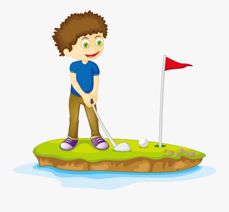 Transparent Cartoon Golf Clipart Cartoon Picture Play Golf Free Transparent Clipart Clipartkey