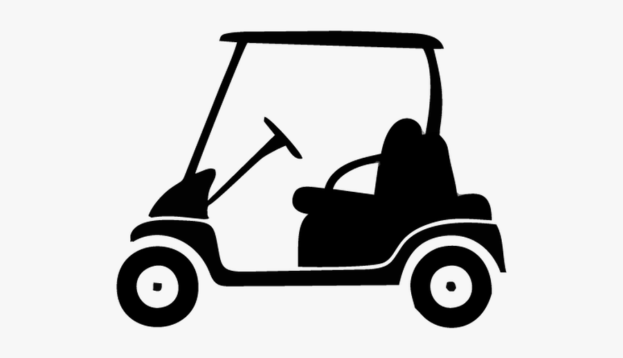 Golf Cart Silhouette Vector , Free Transparent Clipart - ClipartKey