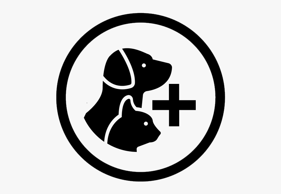 Dog And Cat Symbol Png, Transparent Clipart