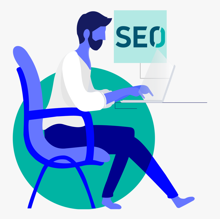 Seo Services Company - Header Designs Of Website, Transparent Clipart