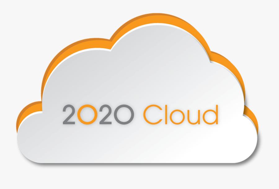 2020 Cloud, Transparent Clipart