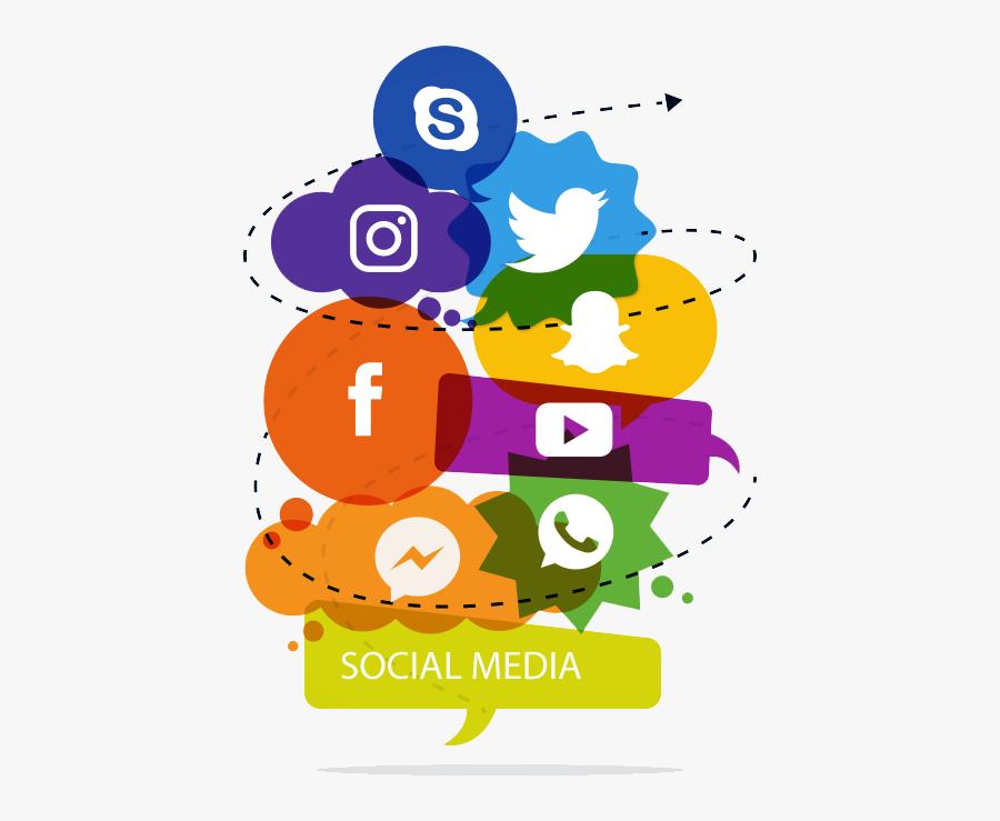Marketing Clipart Value Life - Social Media Design Png, Transparent Clipart